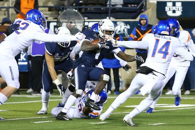 MWC Picks: Boise State vs Utah State College Football Picks, Odds, Predictions 10/24/20
