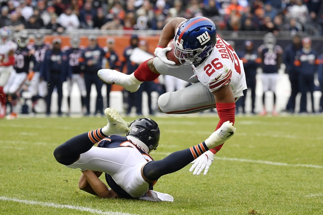 New York Giants at Chicago Bears - 9/20/20 NFL Pick, Odds, and Prediction