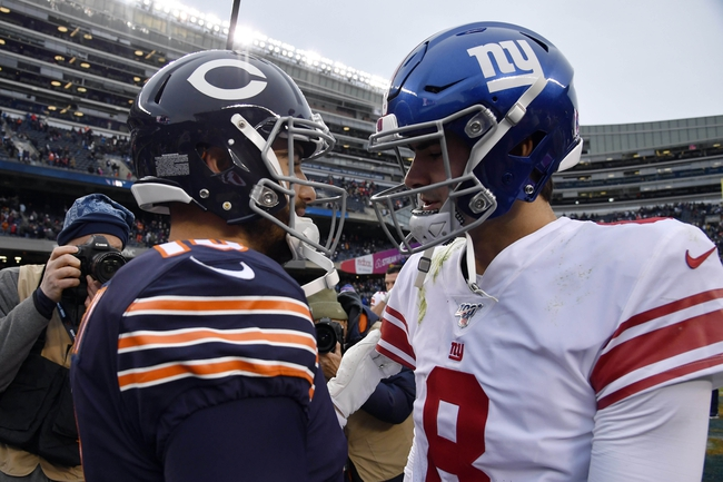 New York Giants at Chicago Bears - 9/20/20 NFL Picks and Prediction