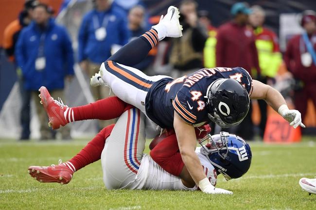 New York Giants vs. Chicago Bears - 6/8/20 Madden 20 Sim NFL Pick, Odds, and Prediction