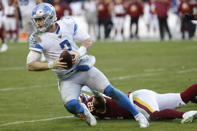Washington Redskins vs. Detroit Lions - 6/16/20 Madden20 NFL Sim Pick, Odds, and Prediction