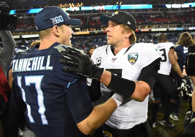 Tennessee Titans vs. Jacksonville Jaguars - 9/20/20 NFL Pick, Odds, and Prediction