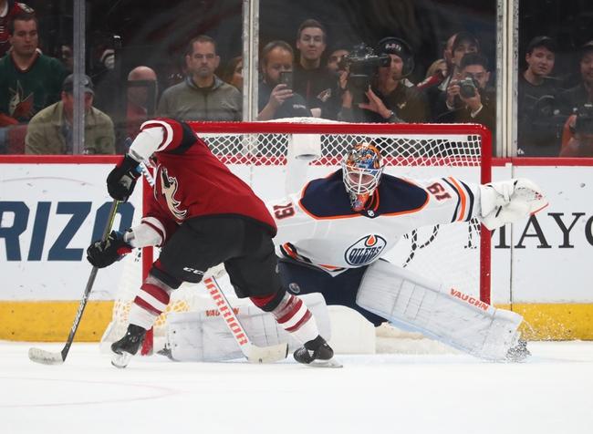 Edmonton Oilers vs. Arizona Coyotes - 1/18/20 NHL Pick, Odds, and Prediction