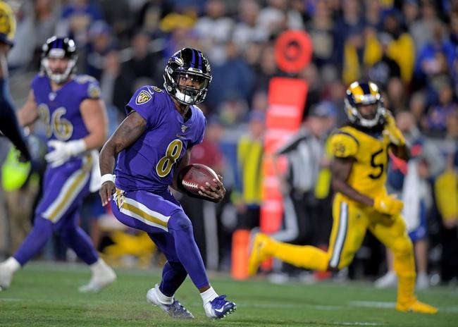 Baltimore Ravens vs. San Francisco 49ers - 12/1/19 NFL Pick, Odds, and Prediction