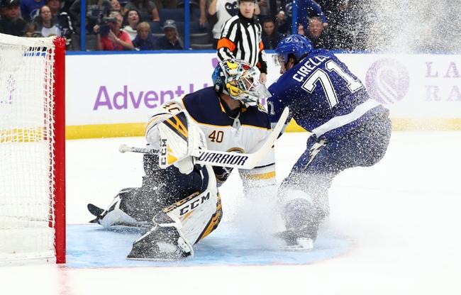 Buffalo Sabres vs. Tampa Bay Lightning - 12/31/19 NHL Pick, Odds, and Prediction