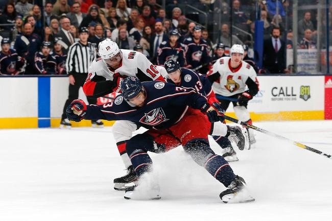 Ottawa Senators vs. Columbus Blue Jackets - 12/14/19 NHL Pick, Odds, and Prediction