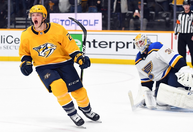 St. Louis Blues vs. Nashville Predators - 2/15/20 NHL Pick, Odds, and Prediction