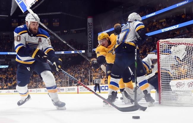 St. Louis Blues vs. Nashville Predators - 2/15/20 NHL Pick, Odds & Prediction