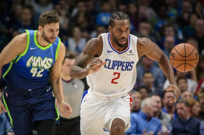 Dallas Mavericks Vs Los Angeles Clippers 1 21 20 Nba Pick