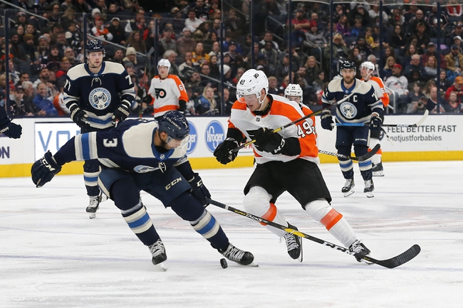 Philadelphia Flyers vs. Columbus Blue Jackets - 2/18/20 NHL Pick, Odds & Prediction