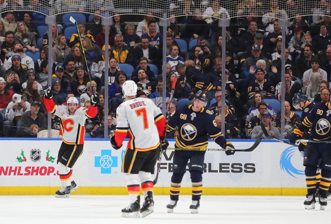 Calgary Flames vs. Buffalo Sabres - 12/5/19 NHL Pick, Odds, and Prediction