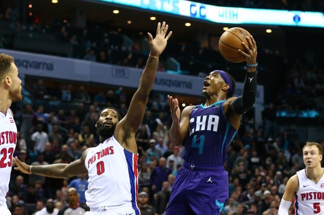 Detroit Pistons vs. Charlotte Hornets - 11/29/19 NBA Pick, Odds, and Prediction