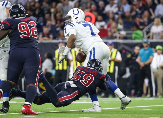Indianapolis Colts vs. Houston Texans - 4/5/20 Madden 20 Sim Pick, Odds, and Prediction