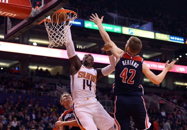 Phoenix Suns at Washington Wizards - 7/31/20 NBA Picks and Prediction