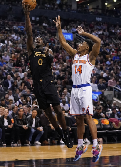 New York Knicks vs. Toronto Raptors - 1/24/20 NBA Pick, Odds & Prediction