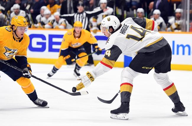 Nashville Predators vs. Vegas Golden Knights - 2/1/20 NHL Pick, Odds, and Prediction