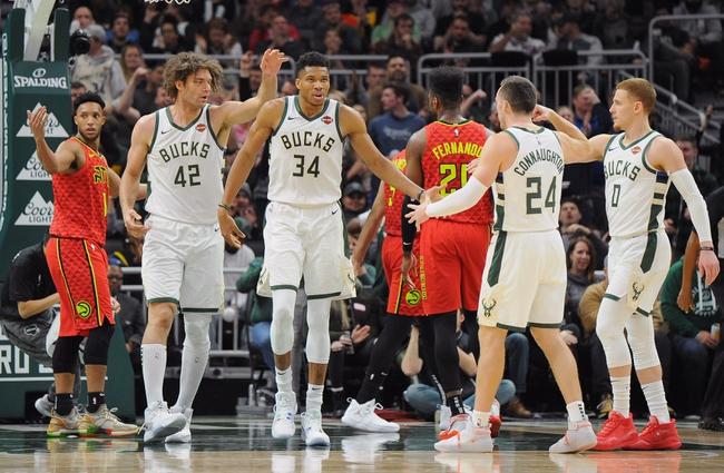 Atlanta Hawks vs. Milwaukee Bucks - 12/27/19 NBA Pick, Odds & Prediction