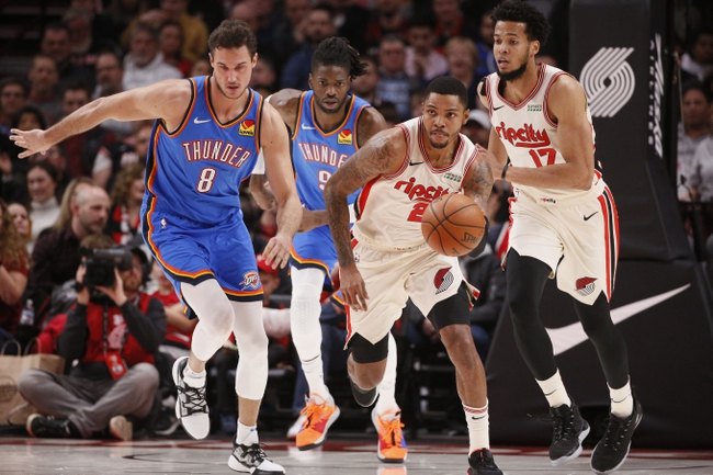 Portland Trail Blazers vs. Oklahoma City Thunder - 12/8/19 NBA Pick, Odds, and Prediction