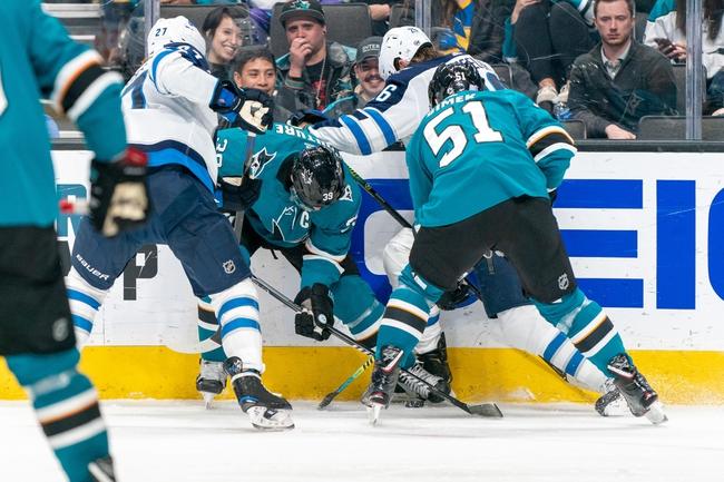 Winnipeg Jets vs. San Jose Sharks - 2/14/20 NHL Pick, Odds & Prediction