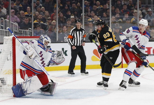 New York Rangers vs. Boston Bruins - 2/16/20 NHL Pick, Odds, and Prediction