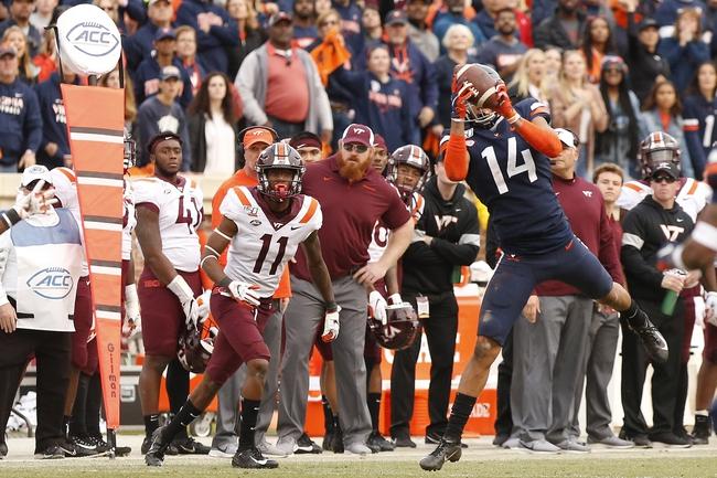Saturday CFB: Virginia Tech vs Virginia 12/12/20 College Football Picks, Odds, Predictions