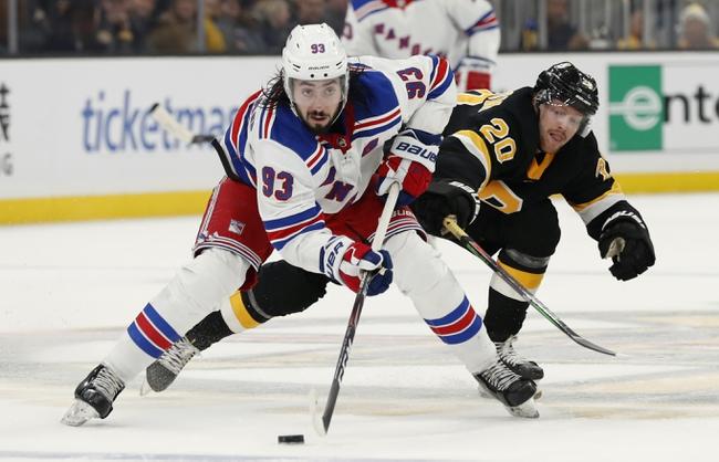 New York Rangers vs. Boston Bruins - 2/16/20 NHL Pick, Odds & Prediction