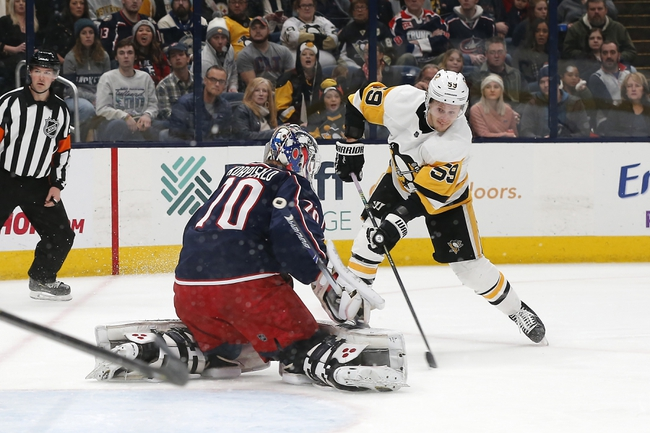 Pittsburgh Penguins vs. Columbus Blue Jackets - 12/12/19 NHL Pick, Odds, and Prediction