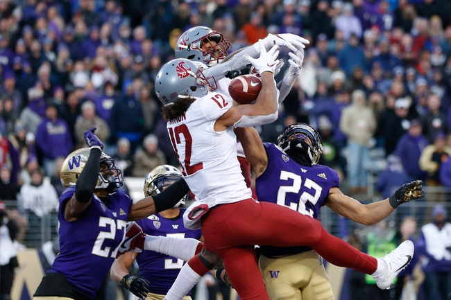 CANCELLED: Washington State vs Washington College Football Picks, Odds, Predictions 11/27/20