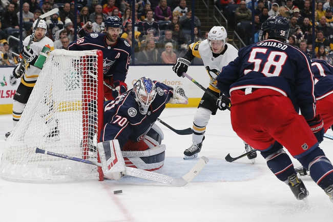 Pittsburgh Penguins at Columbus Blue Jackets - 3/12/20 NHL Picks and Prediction