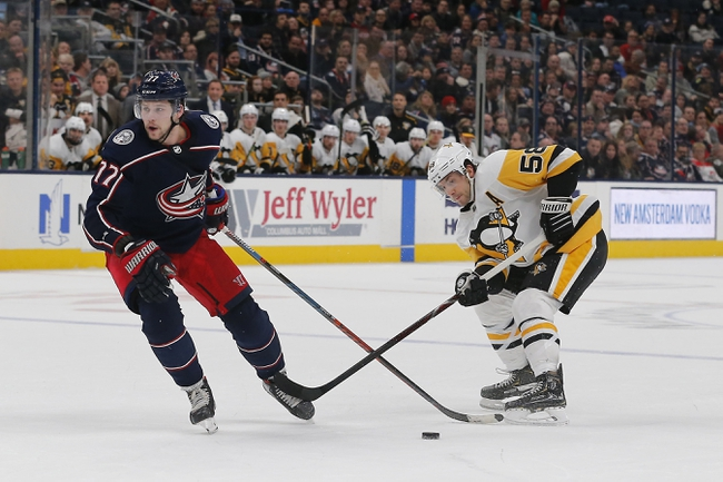 Columbus Blue Jackets vs. Pittsburgh Penguins - 3/12/20 NHL Pick, Odds, and Prediction
