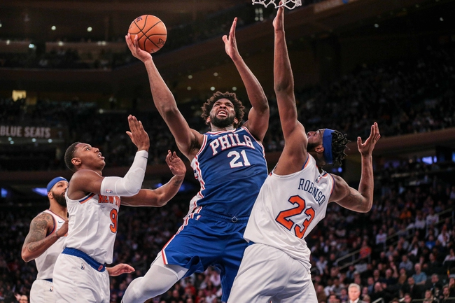 Philadelphia 76ers vs. New York Knicks - 2/27/20 NBA Pick, Odds, and Prediction