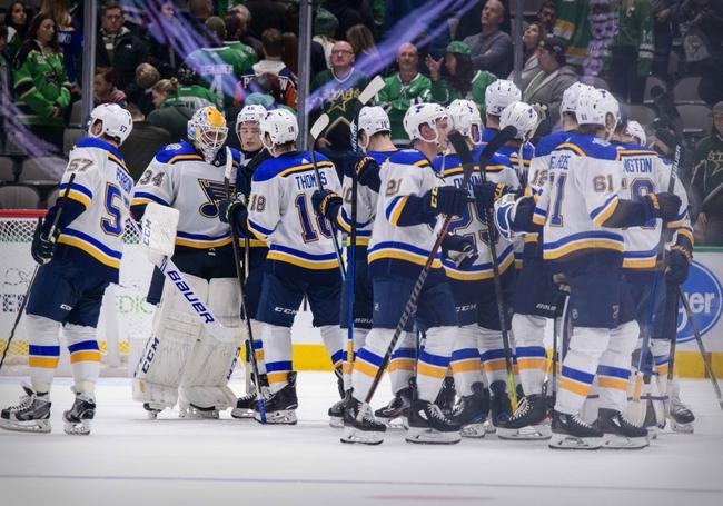 St. Louis Blues vs. Dallas Stars - 2/8/20 NHL Pick, Odds, and Prediction