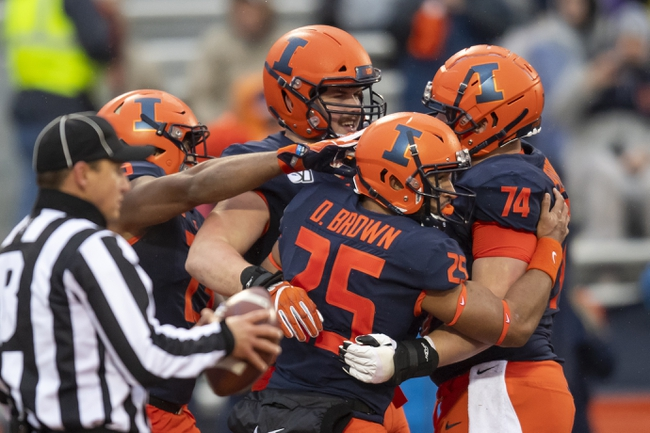 Illinois vs. California - 12/30/19 College Football Redbox Bowl Pick, Odds, and Prediction