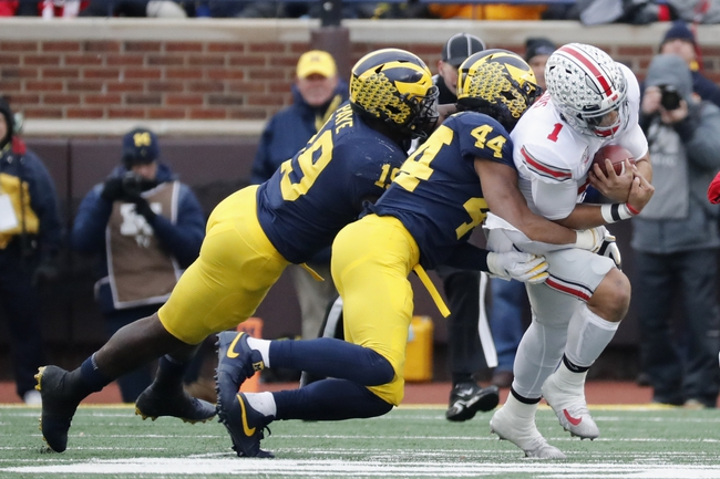 Michigan vs. Ohio State - 11/28/20 Early Look College Football GOY Pick, Odds, and Prediction