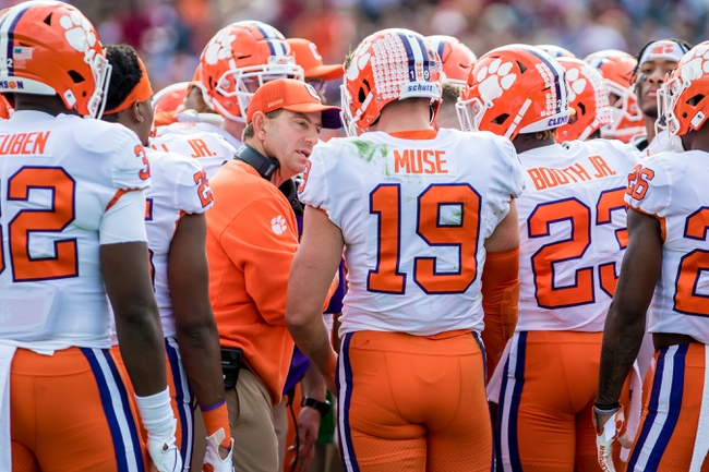 Clemson vs. Virginia - 12/7/19 College Football Pick, Odds, and Prediction