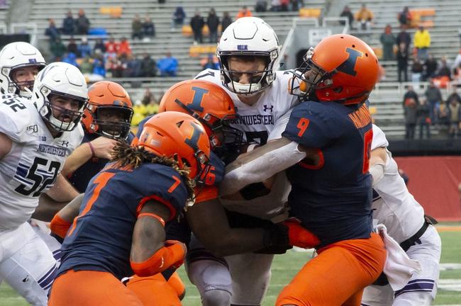 Illinois Fighting Illini vs. California Golden Bears - 12/30/19 College Football Pick, Odds, and Prediction