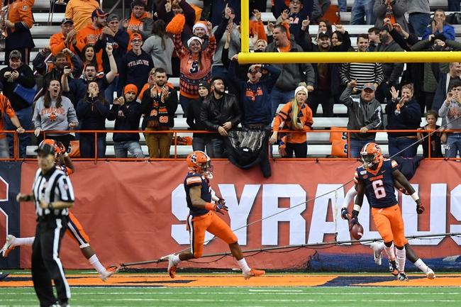 Syracuse at North Carolina - 9/12/20 College Football Picks and Prediction