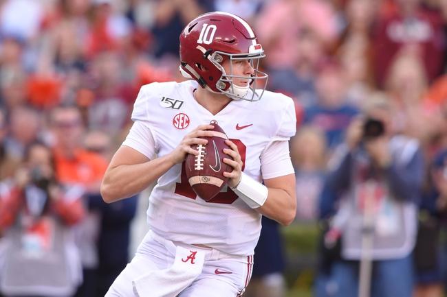 Alabama Crimson Tide 2020 Win Total - College Football Pick, Odds, and Prediction