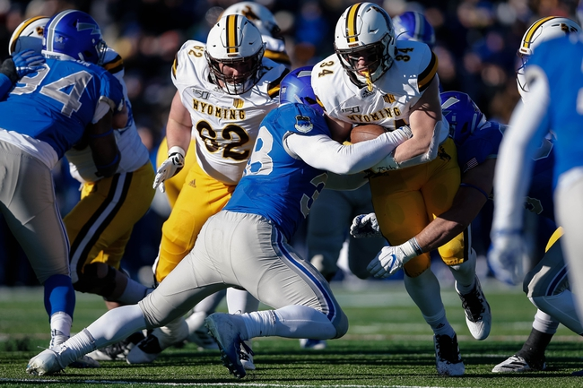 Wyoming Cowboys vs. Georgia State Panthers - 12/31/19 College Football Pick, Odds, and Prediction