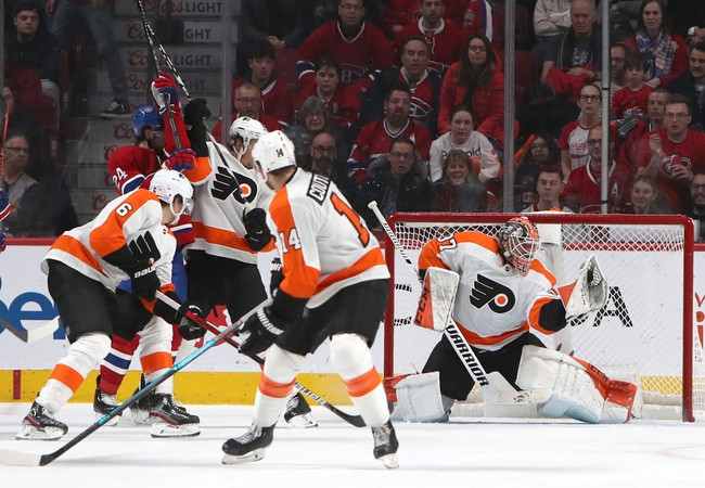 Philadelphia Flyers vs. Montreal Canadiens - 1/16/20 NHL Pick, Odds, and Prediction