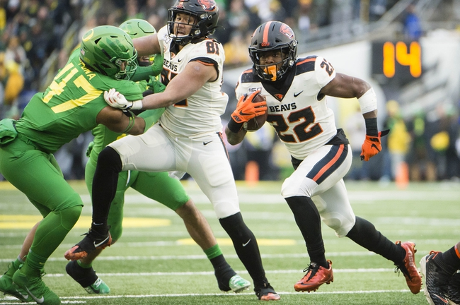 Washington State at Oregon State 11/7/20 College Football Picks and Predictions