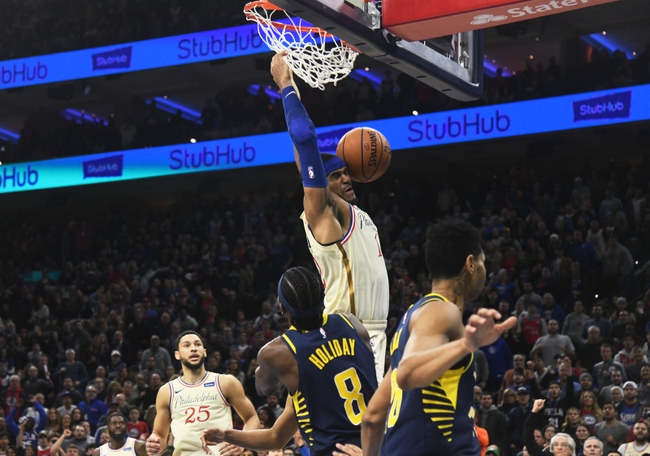 Indiana Pacers vs. Philadelphia 76ers - 12/31/19 NBA Pick, Odds, and Prediction