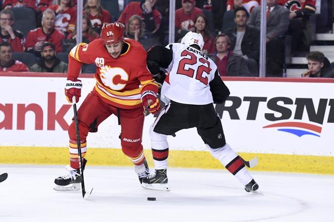 Ottawa Senators vs. Calgary Flames - 1/18/20 NHL Pick, Odds, and Prediction