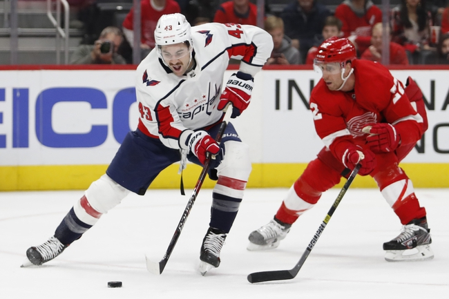 Washington Capitals vs. Detroit Red Wings - 3/12/20 NHL Pick, Odds, and Prediction