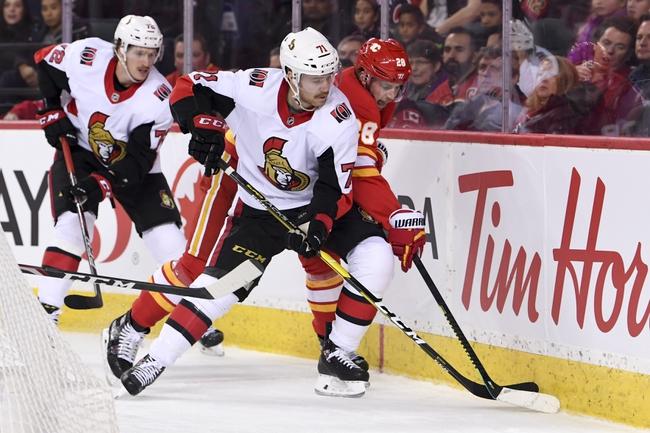 Vancouver Canucks vs. Ottawa Senators - 12/3/19 NHL Pick, Odds, and Prediction