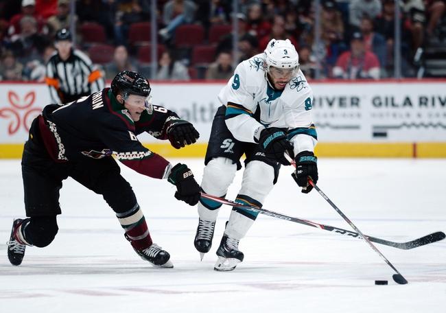 San Jose Sharks vs. Arizona Coyotes - 12/17/19 NHL Pick, Odds, and Prediction