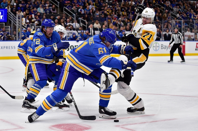 Pittsburgh Penguins vs. St. Louis Blues - 12/4/19 NHL Pick, Odds, and Prediction