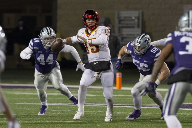 Kansas State at Iowa State - 10/29/20 Early look College Football GOY Picks and Predictions