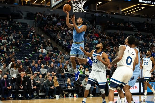 Memphis Grizzlies vs. Minnesota Timberwolves - 1/7/20 NBA Pick, Odds & Prediction