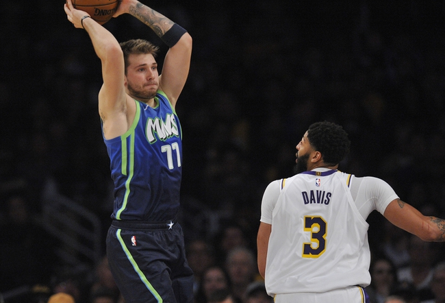 Los Angeles Lakers Vs Dallas Mavericks 12 29 19 Nba Pick